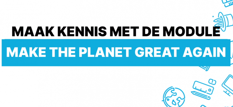 Lespakket in de kijker: Make the planet great again